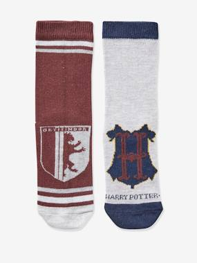 Pack of 2 Pairs of Socks, Harry Potter® grey